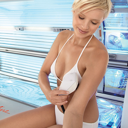 Sun Angel sensor tanning technology available from the Tanning Shop | The Tanning Shop Ireland